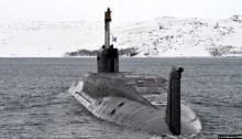 غواصة نووية روسية من طراز بوري