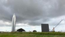 """قامت شركة سبيس اكس بتجميع سفينة الفضاء """"ستار سيب"""" في مدينة بوكا شيكا بولاية تكساس في أقل من 6 أشهر"""