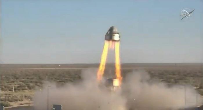 أجرت بوينج اختبارًا لقاعدة إطلاق كبسولة لرواد الفضاء CST-100 Starliner الخاصة بها في 4 نوفمبر 2019 في نيو مكسيكو