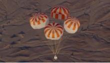 فتحت مظلتين فقط من 3 مظلات كان المفترض أن يتم فتحهم لهبوط كبسولة الفضاء CST-100 Starliner لشركة بوينج