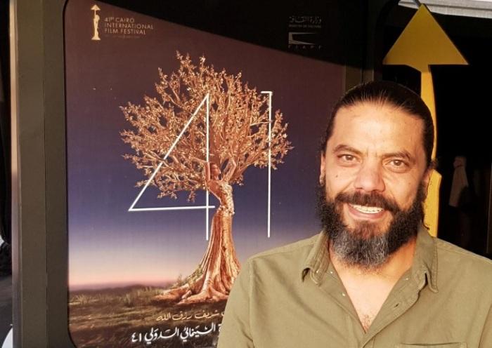 المخرج ماجد فراج في مهرجان القاهرة السينمائي الدولي يوم 22 نوفمبر 2019