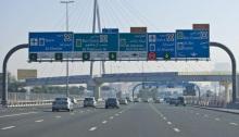 شوارع مدينة دبي آمنة وعصرية ومليئة بالحياة
