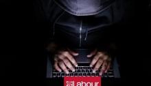 هجوم إلكتروني كبير علي حزب العمال البريطاني