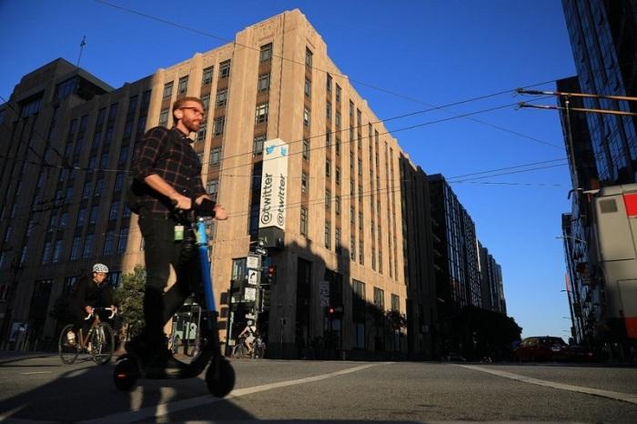 المقر الرئيسي لشركة تويتر في مدينة سان فرانسيسكو الأمريكية