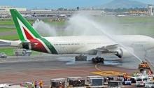 طائرة لشركة أليطاليا