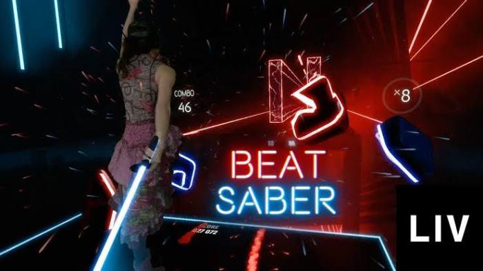 لغبة الواقع الإفتراضي Beat Saber