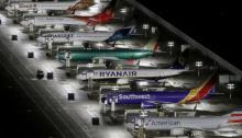 طائرات شركة بوينج من خطوط طيران متنوعة