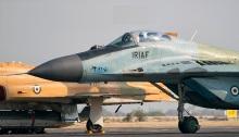 طائرة مقاتلة لسلاح الجو الإيراني من طراز ميج-29