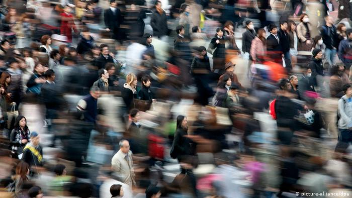 تدافع بشري في العاصمة اليابانية طوكيو