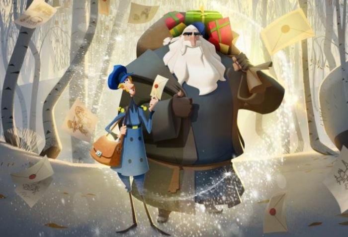 صورة مأخوذة من فيلم (كلوز) حصلت عليها رويترز من نتفليكس يوم 18 ديسمبر