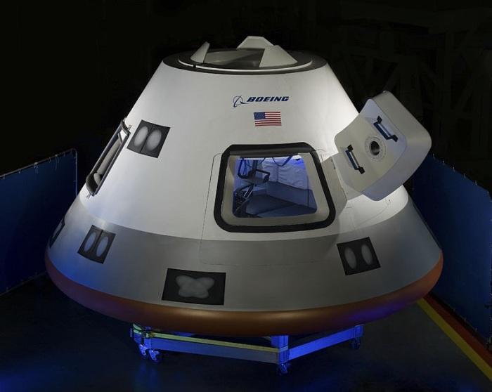 كبسولة بوينج ستارلاينر من إنتاج شركة بوينج وقد تم تطويرها لحمل رواد الفضاء للمحطة الفضائية الدولية