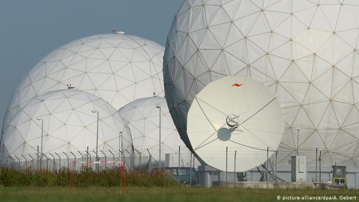 مراكز التجسس التابع للمخابرات الألمانية في منطقة باد آيبلينج