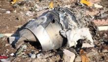 محرك الطائرة الأوكرانية وجد بين الحطام، 8 يناير 2020