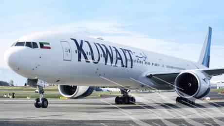 طائرة أيرباص 320 لشركة الخطوط الجوية الكويتية