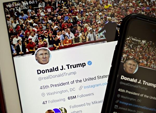 أكثر من 20% من مستخدمي تويتر بالولايات المتحدة يتابعون حساب ترامب علي الشبكة الإجتماعية