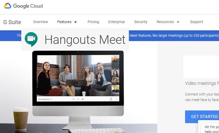خدمة جوجل هانج أوت تتيح الأجتماعات عن بعد بسهولة