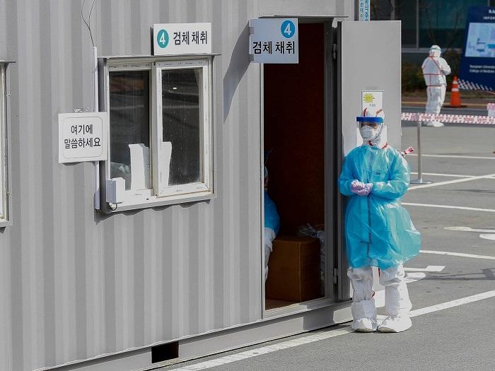 مراكز الرعاية الطبية ضد فيروس كورونا في كوريا الجنوبية
