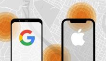 """أبل هي مطور نظام """"آي أو إس""""، بينما جوجل هي الشركة التي تقف وراء نظام """"أندرويد"""""""