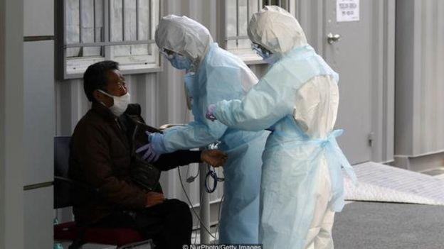كانت مدينة دايغو واحدة من بؤر تفشي وباء كورونا المستجد في كوريا الجنوبية