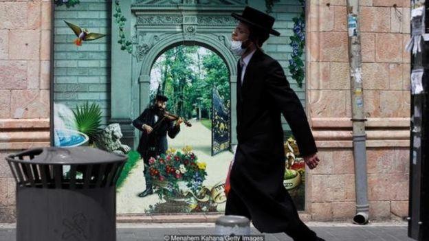 كانت مجتمعات اليهود المتشددين في إسرائيل أكثر المناطق تأثرا في إسرائيل بوباء كورونا المستجد