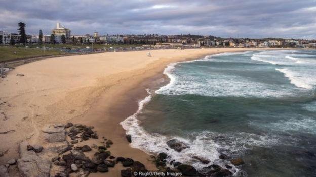 أغلق شاطئ بوندي منذ 21 مارس بعد أن خالف رواد الشاطئ قواعد التباعد الاجتماعي