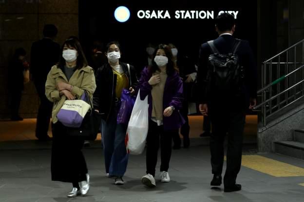 سجلت اليابان نحو 3140 إصابة و77 وفاة