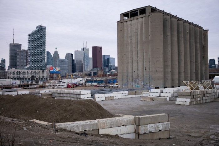 """الموقع المزمع لشركة """"سايدووك لابس""""، التابعة لشركة جوجل لبناء مدينة المستقبل الذكية في تورونتو - كندا"""