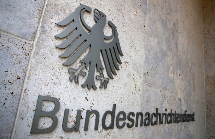 شعار وكالة المخابرات  الألمانية