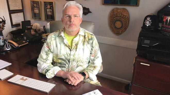 كان رايت يدرب محللي السلوك الإنساني في وكالة الأمن الوطني الأمريكية