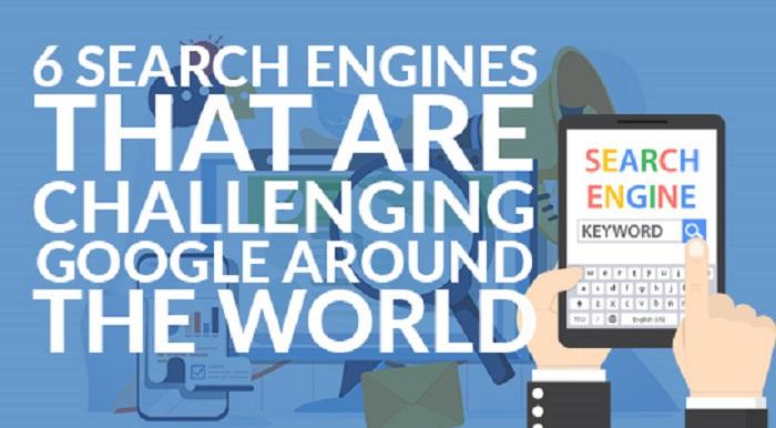 محرك البحث جوجل هو الأشهر عالميا ولكنه ليس الوحيد