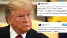 الحرب المستعرة بين ترامب ومنصته المفضلة شبكة تويتر