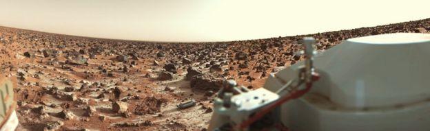 المركبة الأمريكية فايكينغ2 هبطت على المريخ في السبعينيات