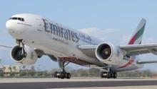 طائرة لخطوط طيران الإمارات