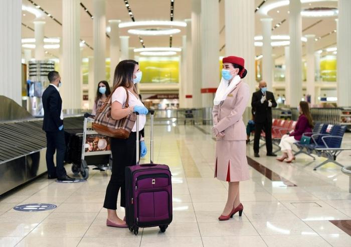 طيران الأمارات هي أول شركة طيران في العالم تغطي تكاليف علاج مسافريها إذا أصابتهم عدوي كورونا