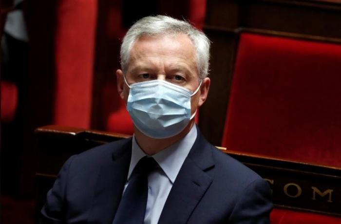 وزير المالية الفرنسي يلقي كلمة أمام الجمعية الوطنية الفرنسية يوم 15 يوليو 2020