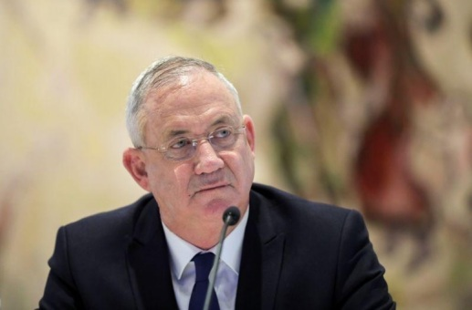 وزير الدفاع الإسرائيلي بيني جانتس في القدس يوم 24 مايو 2020