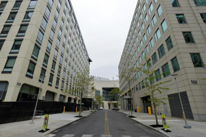 المقر الرئيسي لشركة مودرنا في مدينة كمبريدج بولاية ماسيشوستس بالولايات المتحدة