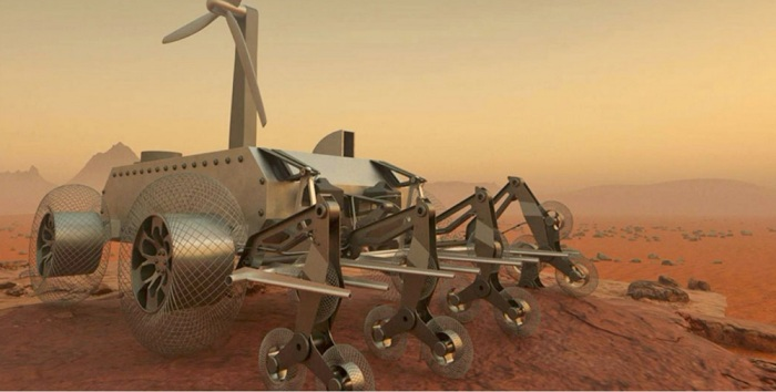 تصميم للمهندس المصري يوسف غالي لمركبة استكشاف كوكب الزهرة في مسابقة لوكالة الفضاء الأمريكية ناسا