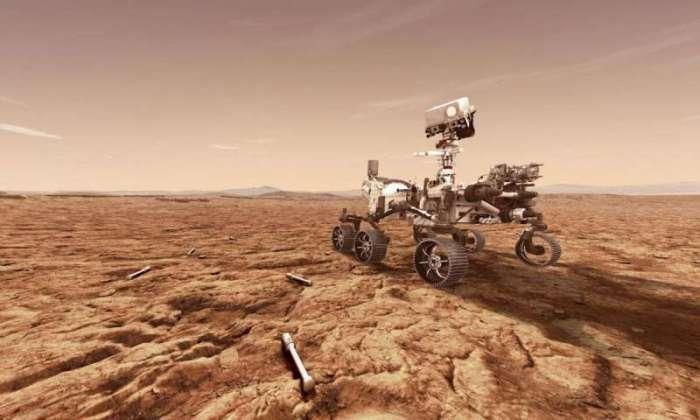 المركبة بيرسيفيرانس سوف تسير علي سطح كوكب المريخ في شهر فبراير 2021