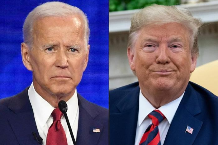 المتنافسان في الانتخابات الأميركية دونالد ترمب وجو بايدن