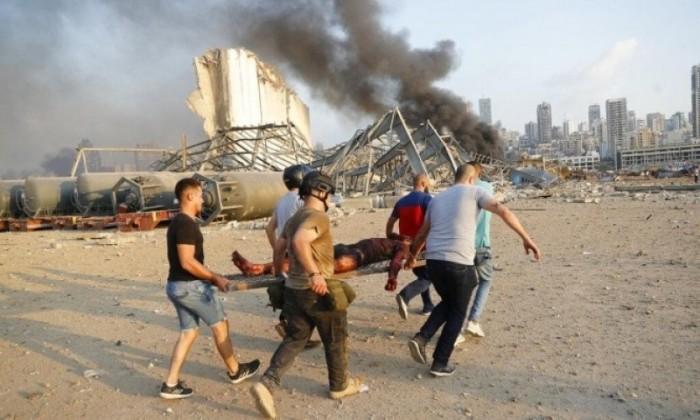 انفجار بيروت: عشرات القتلى ومئات الجرحى في انفجار هز العاصمة اللبنانية