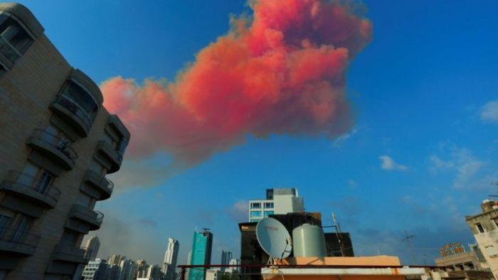 يمكن أن يؤدي انفجار نترات الأمونيوم إلى إطلاق غازات سامة