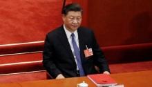 الرئيس الصيني شي جين بينج في بكين يوم 28 مايو 2020