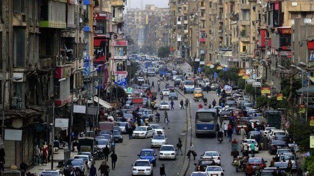 فقد مصطفى في أحد أكثر أحياء العاصمة المصرية ازدحاما
