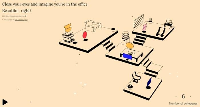 """موقع """"انا أفتقد المكتب"""" لمن أمضي فترة طويلة في العمل من المنزل"""