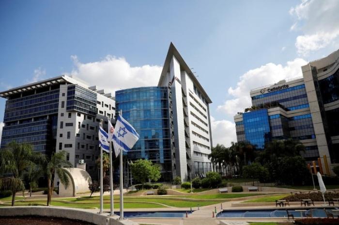 مجمع تجاري يضم شركات تكنولوجيا متقدمة، في بتاح تكفا، إسرائيل، 27 أغسطس 2020