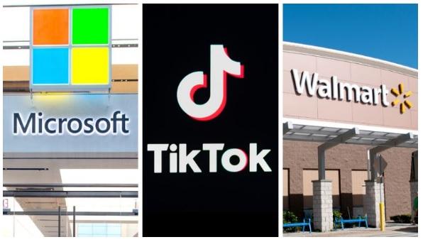 تعاون شركة وول مارت مع مايكروسوفت سوف يساعد علي الوصول السريع لأتفاق لشراء عمليات تطبيق تيك توك في الولايات المتحدة