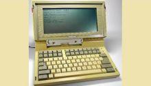 أول كمبيوتر محمول تنتجه توشيبا