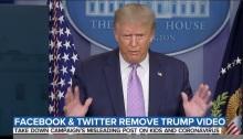 شبكات التواصل الإجتماعي تواصل إلغاء تغريدات ونشرات الرئيس الأمريكي ترامب بسبب المعلومات المضللة عن فيروس كورونا