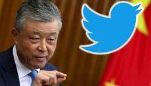يستخدم السفير ليو شياو مينغ حسابا بموقع تويتر منذ أواخر العام الماضي